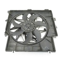 17427560877 F25 F26 X3 X4 Radiator Cooling Fan Assembly 7560877 For BMW