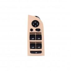 Beige Console Left Panel Power Window Control Switch 61319217334 for BMW E90 318i 320i 325i 335i
